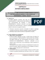 CAPITULO v. Estudio Agrologico. Ok