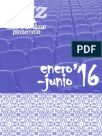 Folleto Teatro Alkazar Enero-junio 2016