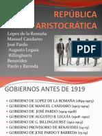 Historia del Perú siglo XX