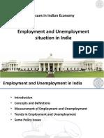 PPT Employment Unemployment in India