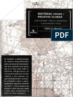 MIGNOLO, Walter. História Locais Projetos Globais