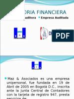 Auditoria Financiera Quesos Del Vecchio S.a. 2009