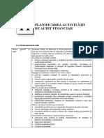 11_planificarea Activitatii de Audit Financi Ar