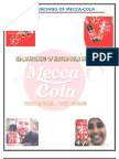 Report on Re Launching of Mecca Cola in Pakistan
