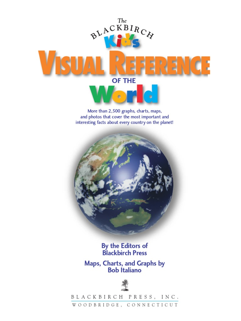 Kids Visual Reference of the World.pdf | Geomatics | Earth & Life Sciences