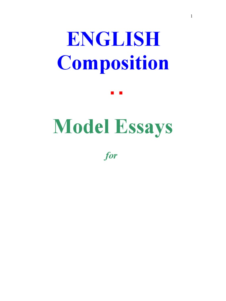 5794158552c English Composition - An eBook by Subroto Mukerji