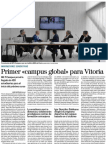 Primer Campus Global Para Vitoria (DNA) 27/01/2016