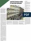El Fiscal de Tribunal de Cuentas Retira Su Demanda en El Caso San Antonio (El Correo) 16.02.2016