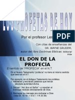 losprofetasdehoy-lesthompson-090322103500-phpapp02.ppt