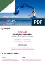 Onopia - Webinaire stratégie océan bleu