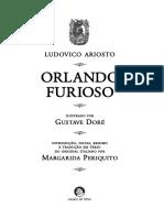 Orlando Furioso. Ludovico Ariosto.