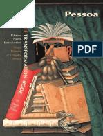 Fernando Pessoa, The Transformation Book (Book Sample)