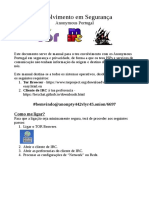 Tutorial rede de IRC Anonymous Portugal