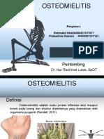 PPT Osteomeilitis