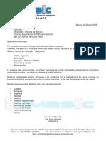 INMASIC Carta de Presentacion