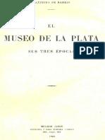 Barrio, Maximino. El Museo de La Plata - 1923