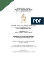 La Fuerza Armada y la seguridad pública de El Salvador en el proceso de post transición%2C 2004 - 2012.pdf