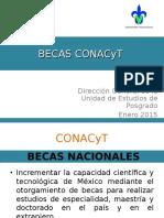 Presentacion Becas Conacyt 2015