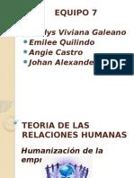 TEORIA HUMANISTA O DE LAS RELACIONES HUMANAS.pptx