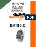 Yanmar 4TNV84T (Himoinsa 28kVA)