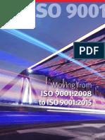 Transicion de Iso 9001:2008 a Iso 9001:2015