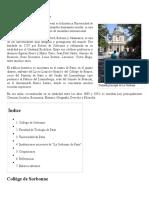 La Sorbona - Wikipedia, La Enciclopedia Libre