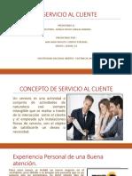Servicio Al Cliente Diapositivas