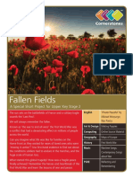 Fallen Fields - Lesson Plan
