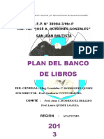 Plan Banco Del Libros