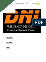 Documentos Patrios Antecedentes a La c.n. de 1853