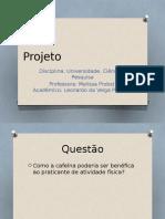 Projeto UCP