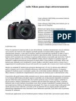 Notizie dettagliate sulle Nikon passo dopo attraversamento Order