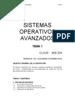 Sistema Operativo Avanzado