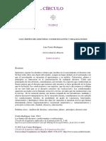Cortés, L (2012) Los Límites Del Discurso Condicionantes y Realizaciones