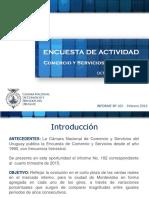Estudio Cámara de Comercio Ultimo Trimestre 2015