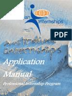 Australian Internships PIP Manual