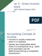 Federal Taxation ch3