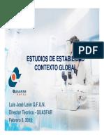 Estudios de Estabilidad en El Contexto Global