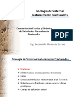 4.- Geología de Sistemas Naturalmente Fracturados