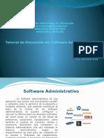 Tutorial de Elementos Del Software Administrativo
