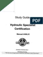 Hydraulic Specialist study guide