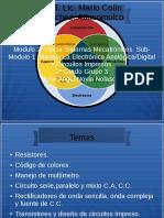 Maneja La Electrónica Analógica/Digital Y Circuitos Impresos.