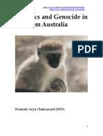 EUGENICS and GENOCIDE in and from AUSTRALIA (1999) by Dr Romesh Senewiratne-Alagaratnam  Arya Chakravarti
