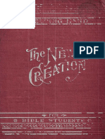 The New Creation by Charles Taze Russell, 1909 Edition