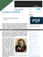 Ch4 the Early Utopian Socialists [1]