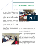 kisaruni girls milimani newsletter to castilleja