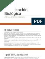 Clasificación Biológica