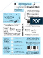 notation and pitch - poster