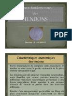 3-9 Aspects Fondamentaux Des Tendons JP Diverrez
