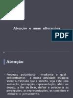 ATENÇÂO e Suas Alterações